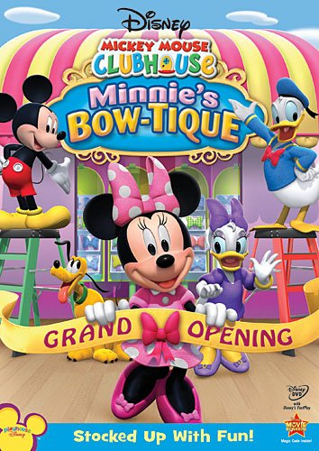 Disney Mickey Mouse Clubhouse: Minnie's Bow-tique [2010] [DVDR] [NTSC] [Latino]