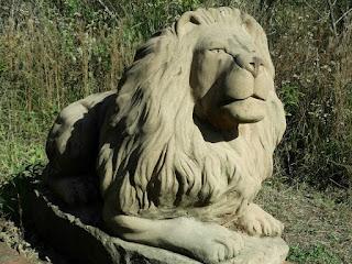 O Leão Sentado - Jardim das Esculturas, Júlio de Castilhos (RS)