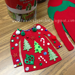 ugly christmas sweater craft ideas posted by peachiespeechie at 12 14 pm 7270