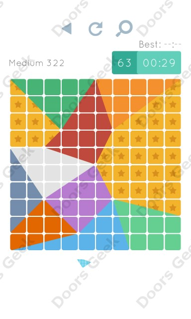 Cheats, Walkthrough for Blocks and Shapes Medium Level 322