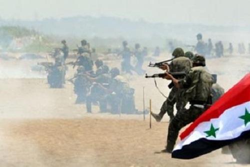بهدف قطع خطوط الامداد,الجيش ينفذ رمايات مركزة باتجاه الجمرك القديم والنعيمة بدرعا.