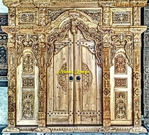 Pintu Gebyok Ukir 3 Meter