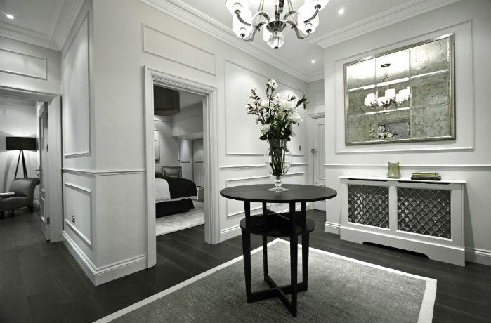 un espacio elegante en Londres