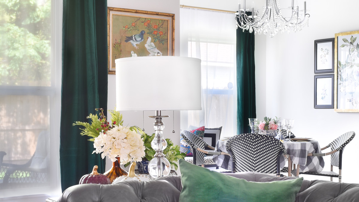 Green Curtains For Living Room Grey And Blue Ideas The Best Emerald Velvet Curtain Panels Monica Wants It Affiliate Links Are Used In This Post Which Means I Get A Tiny Amount Of Compensation If You Buy Through My Link At No Additional Cost To