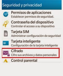 Cifrado de Datos Blackberry