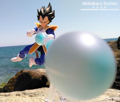 Review del S.H.Figuarts Vegeta de Dragon Ball Z - Tamashii Nations.