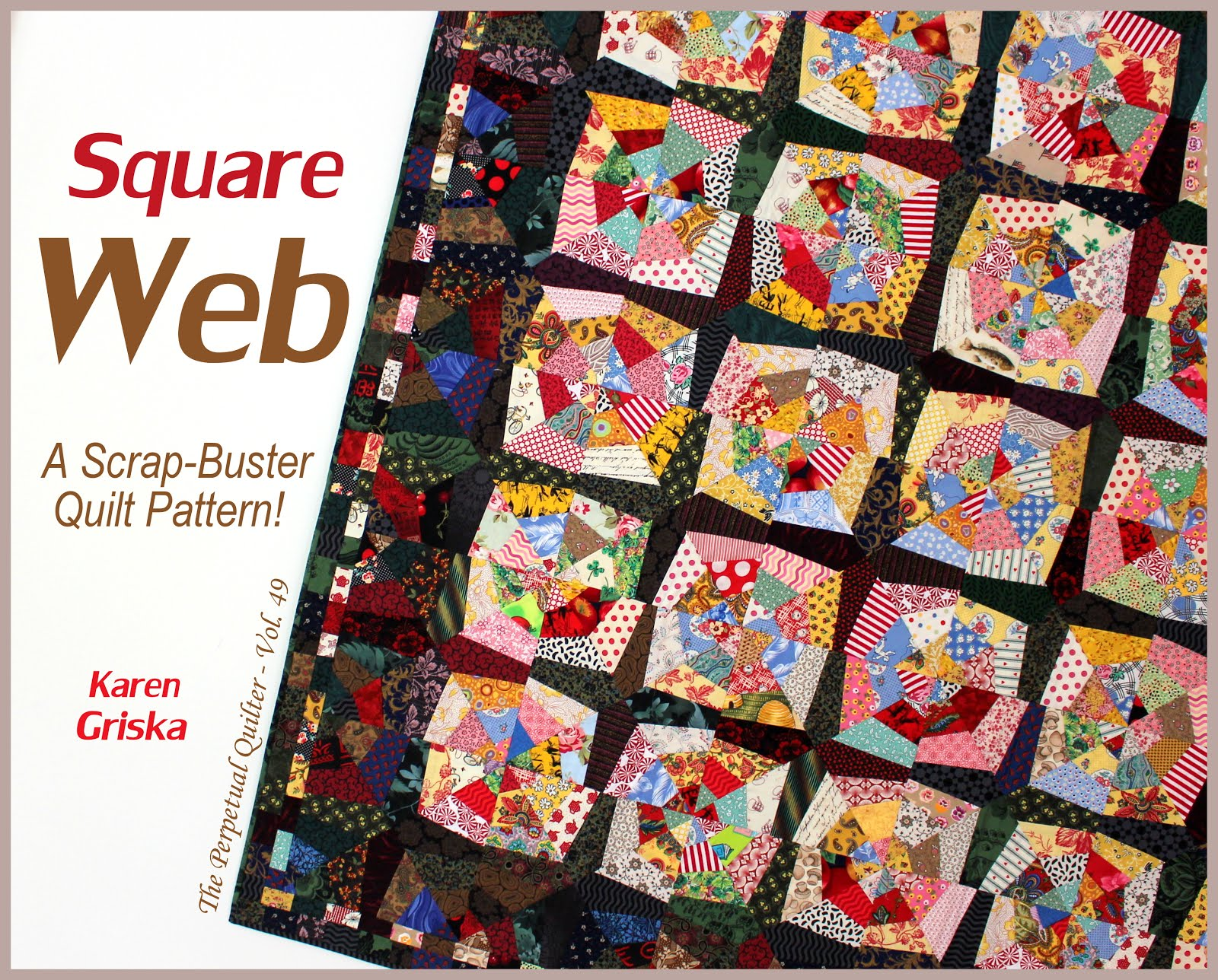Square Web Quilt Pattern!