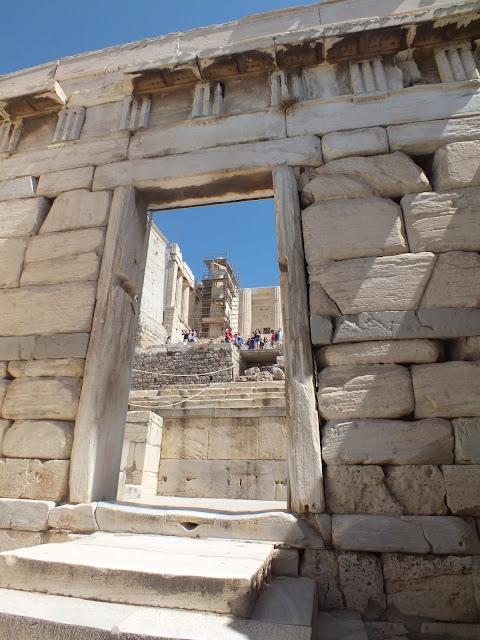 entrada del Acrópolis