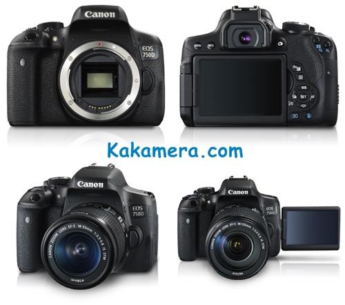 Harga Kamera Canon EOS 750D