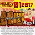 Cd (Mixado) Dj Breno Sousa (Melody 2017) Vol:01