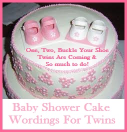 baby shower cake phrases for twins unique baby shower cake sayings
