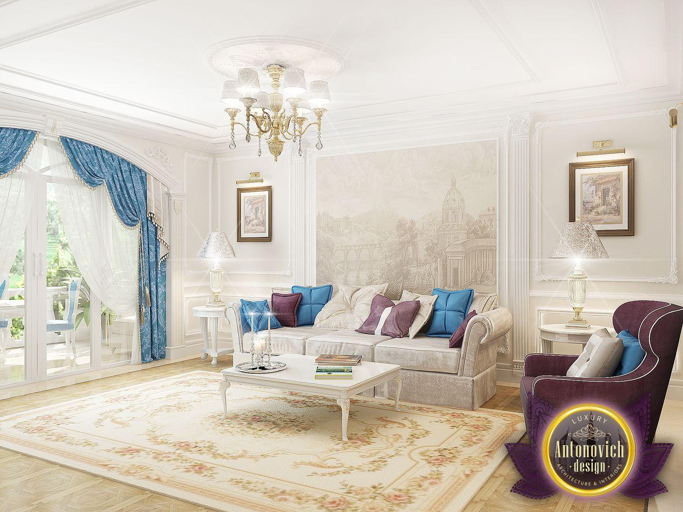 luxury antonovich design uae family living room interior