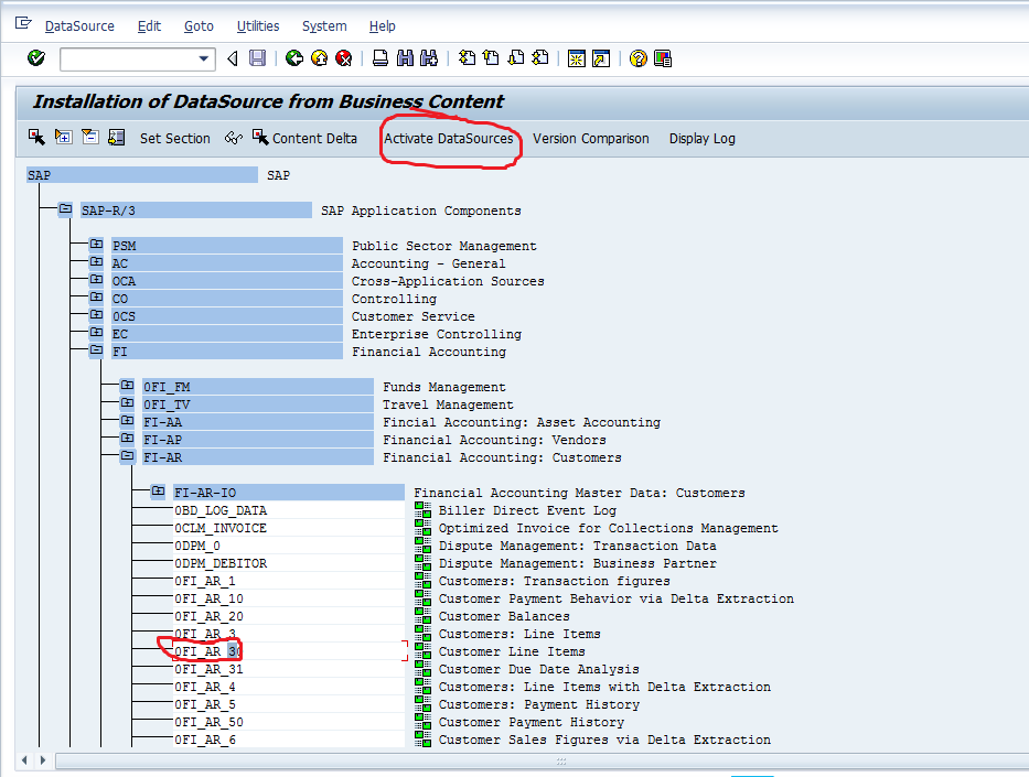 How to Load Transaction Data from ECC: SAP RSA5