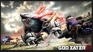 Game PPSSPP Terbaik  God Eater 2