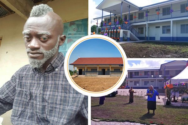 Lilwin Building Big School Complex In His Hometown