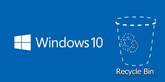 كيفية اظهار سلة المحذوفات وايقونات سطح المكتب في ويندوز Windows 10