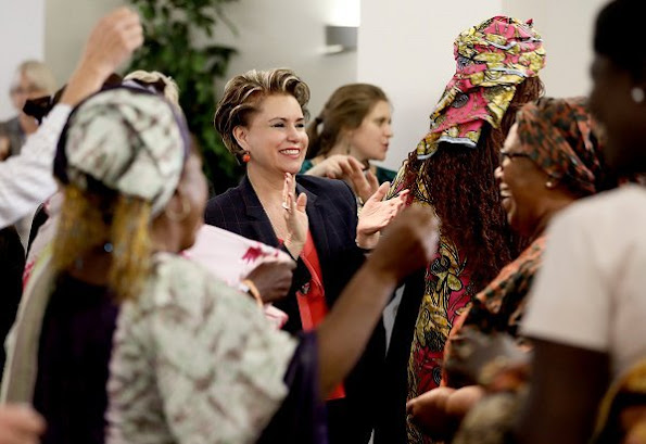 Grand Duchess Maria Teresa welcomed 50 women who survived in civil wars and conflicts