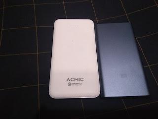 16 Membandingkan Powerbank Acmic C10 Pro Dengan Xiaomi Mi Powerbank 2 10000 mAh