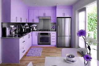 Construindo minha casa clean cozinha em laca ou mdf modernas e lindas - Roze keuken fuchsia ...