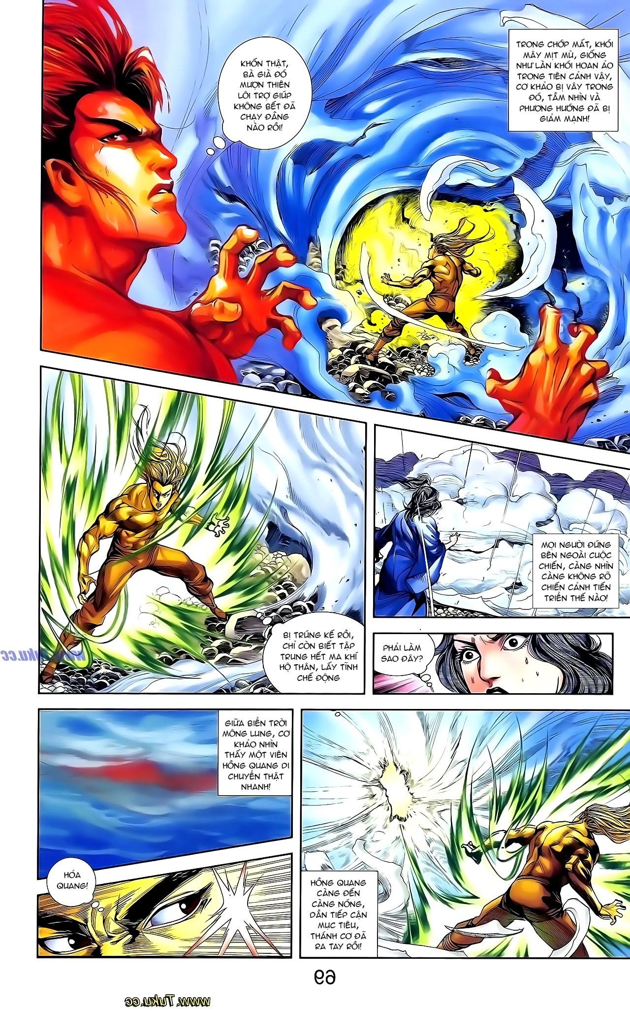 Cơ Phát Khai Chu Bản chapter 131 trang 9