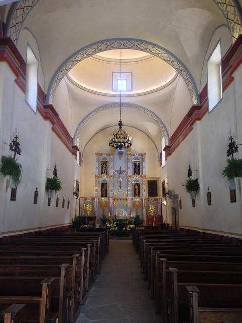 interior Mission San José