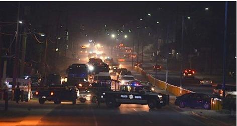 Un torbellino de sangre enfrentamiento de horror entre policías y sicarios: hay seis muertos