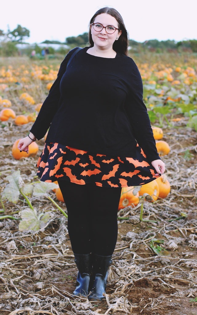 Plus size Halloween outfit