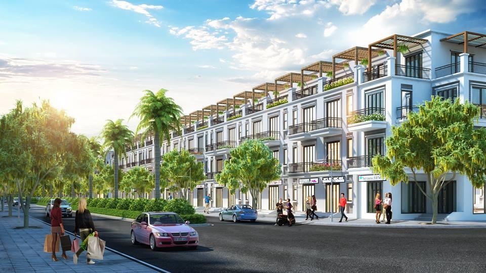 Shophouse dự án TNR Stars Minh Quang Hưng Yên