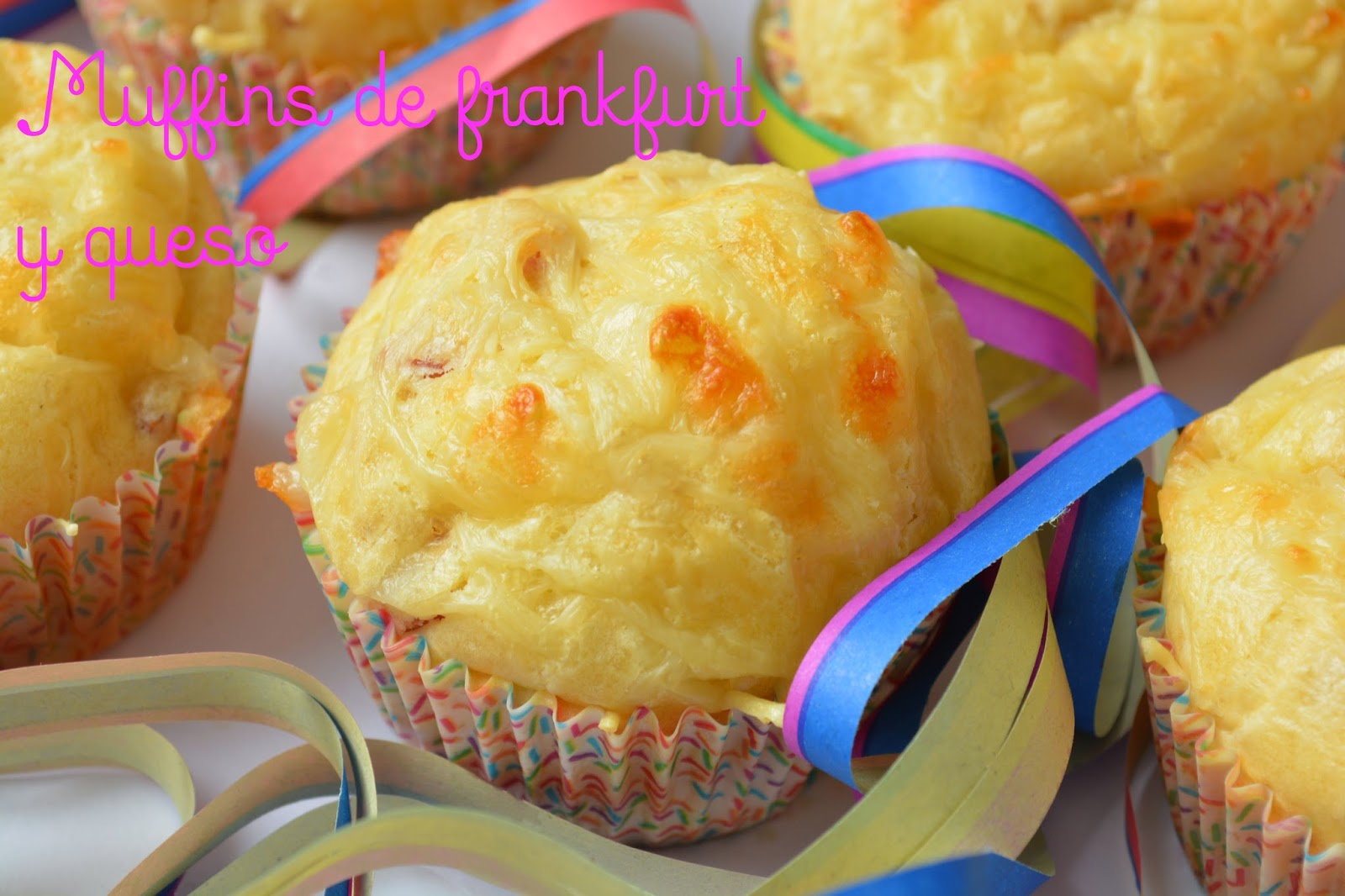 Muffins de frankfurt y queso las cosas de mi cocina - Preparar fiesta infantil ...