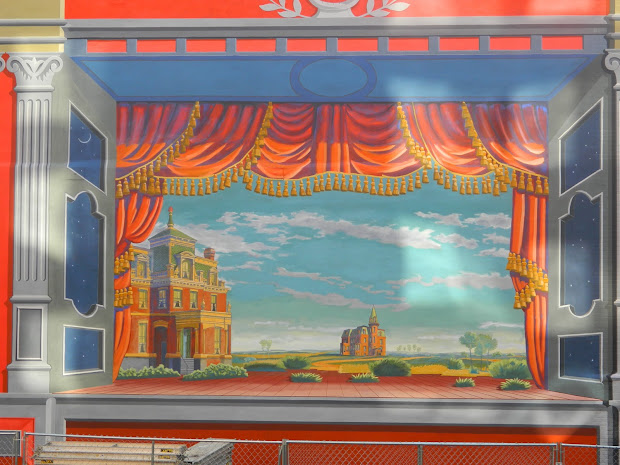 Toy Theater Mural