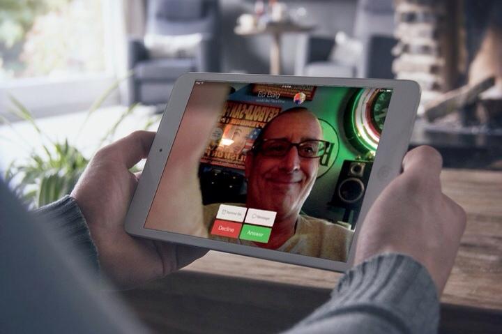 Menggunakan FaceTime di iPad
