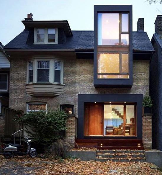 rumah minimalis kombinasi eropa klasik