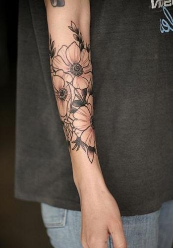 Desain Gambar Tato Bunga Keren Cowok Cewek Tips Kumpulan