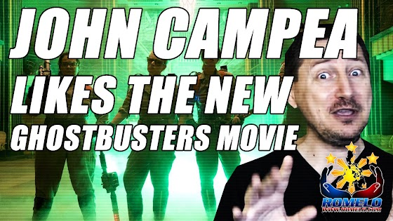 John Campea ★ Likes The New Ghostbusters Movie ★ Also Almost Pissed Him Off