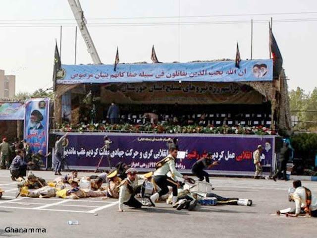 Iran Panggil Diplomat Barat Terkait Serangan Parade Militer