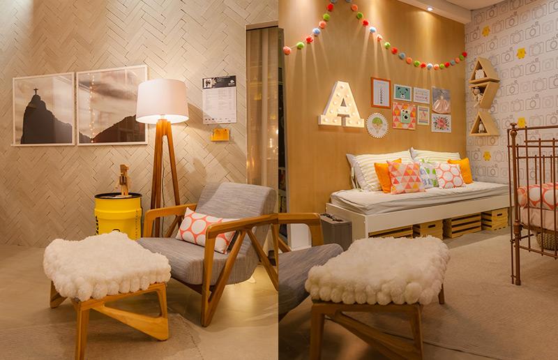 Um quarto de bebê que é rosa e a gente amou! | dcoracao.com