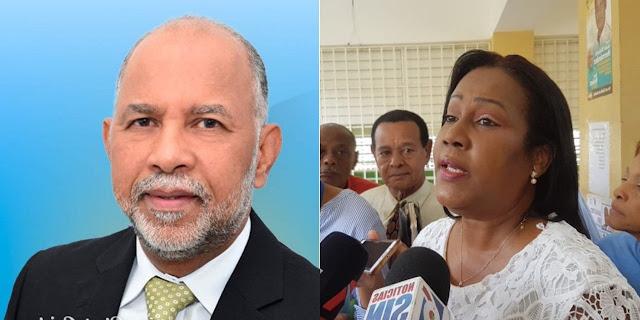 PRM derrota al PLD: Xiomara Guante 52.69%; Eduardo Hidalgo 44.46% en el primer boletín de ADP