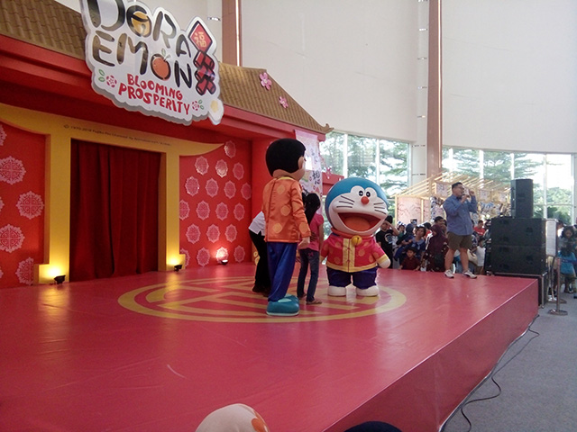 Doraemon Blooming Prosperity [at] Sumarecon mall Bekasi