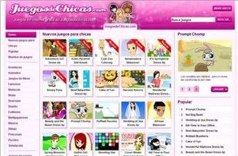 Juegos de Chicas y Juegos para Niñas  JuegosDeChicascom