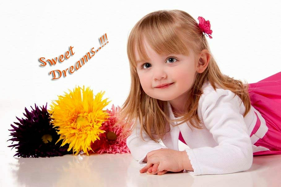 Good night baby images free download