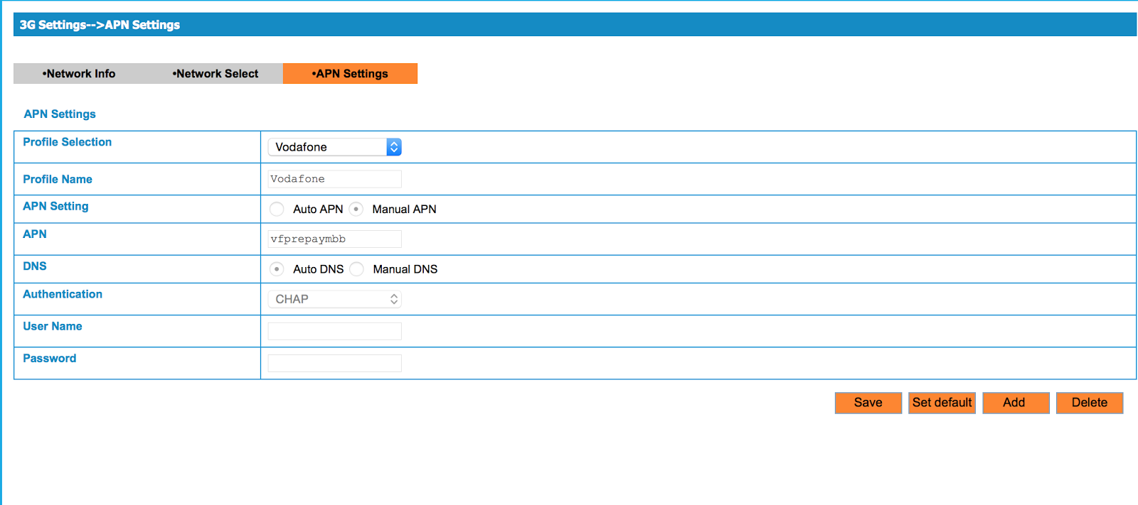 My Tech Notes: Telstra ZTE MF60 WIFI modem: change APN settings