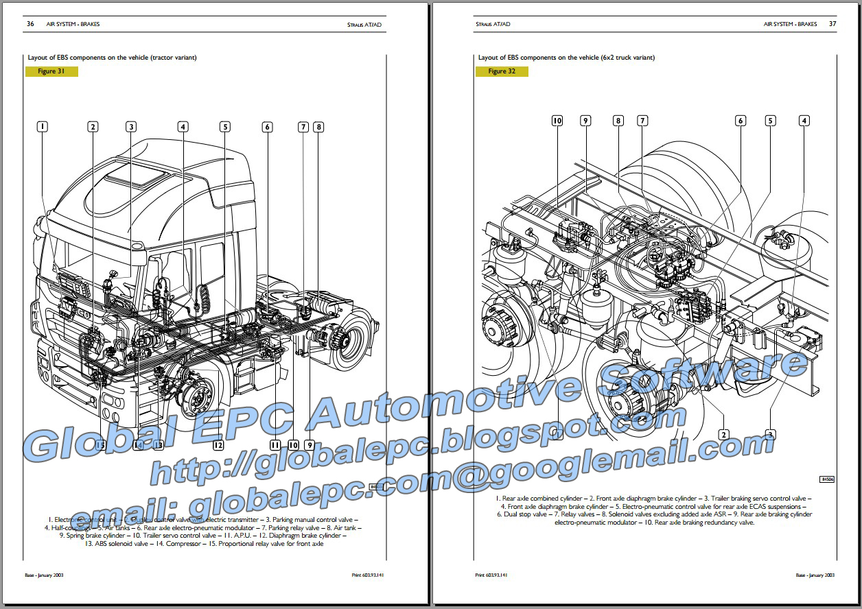 AUTOMOTIVE REPAIR MANUALS: IVECO STRALIS REPAIR MANUAL