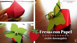 http://haciendomiarte.blogspot.mx/2016/05/fresas-con-papel.html
