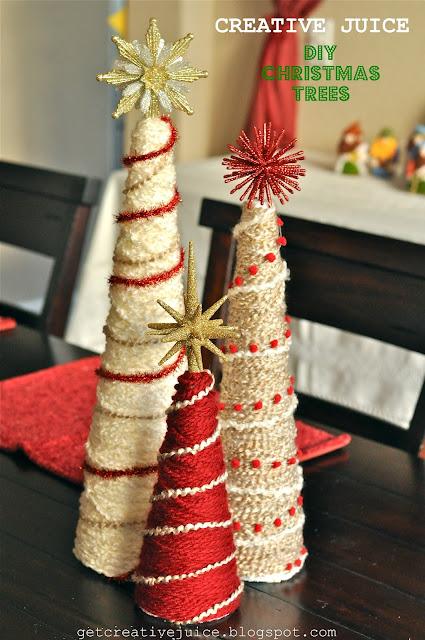 Tutorial Yarn Christmas Tree Tutorial Creative Juice