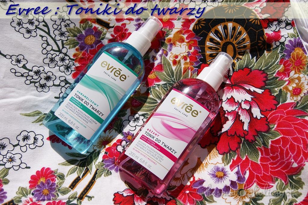 evrēe® | Toniki do twarzy: Hamamelisowy i Różany - idealne na lato
