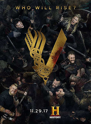 Poster Vikings 2013 Season 2 Dual Audio HD 720p