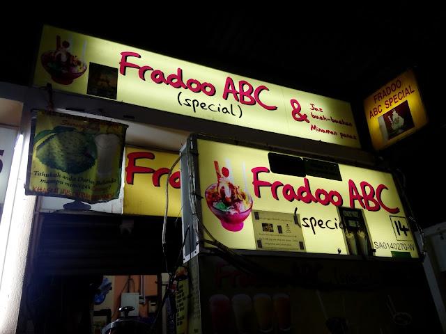 ABC yang paling sedap di Shah Alam