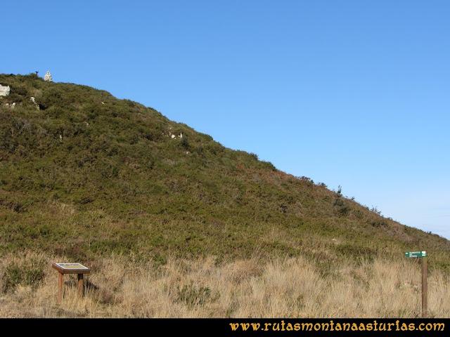 Ruta Sierra Bufarán, picos Degollada o Grande y Cotera: Desvío para el observatorio