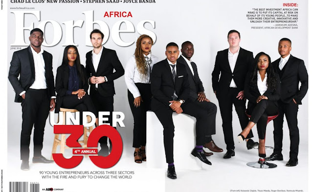Forbes Africa's releases it's 30 Under 30 List for 2018