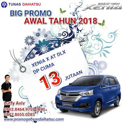 Promo Daihatsu Xenia Awal Tahun 2018